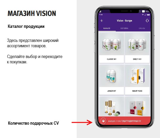 купить в сессии Vision 8